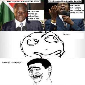 Raila Odinga Challenges Uhuru's Presidency